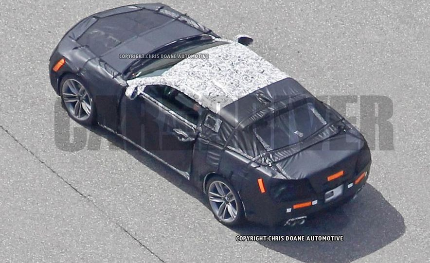 2016 Chevrolet Camaro (spy photo) - Slide 14