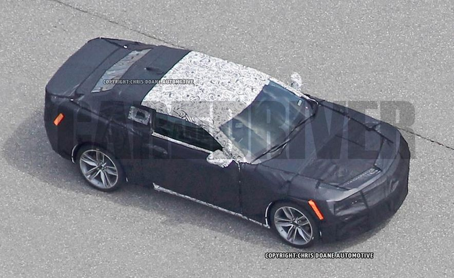 2016 Chevrolet Camaro (spy photo) - Slide 22