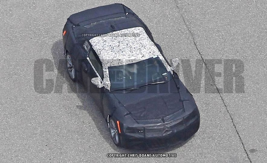 2016 Chevrolet Camaro (spy photo) - Slide 23