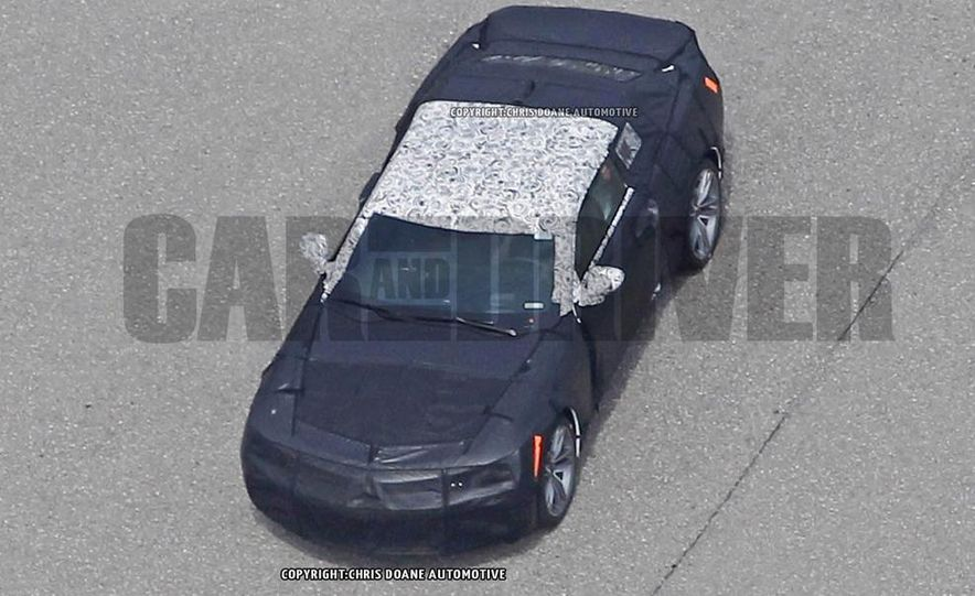 2016 Chevrolet Camaro (spy photo) - Slide 24