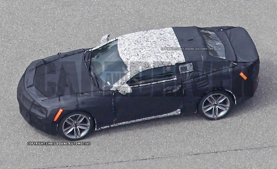 2016 Chevrolet Camaro (spy photo) - Slide 27