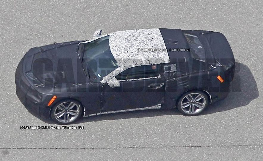 2016 Chevrolet Camaro (spy photo) - Slide 28