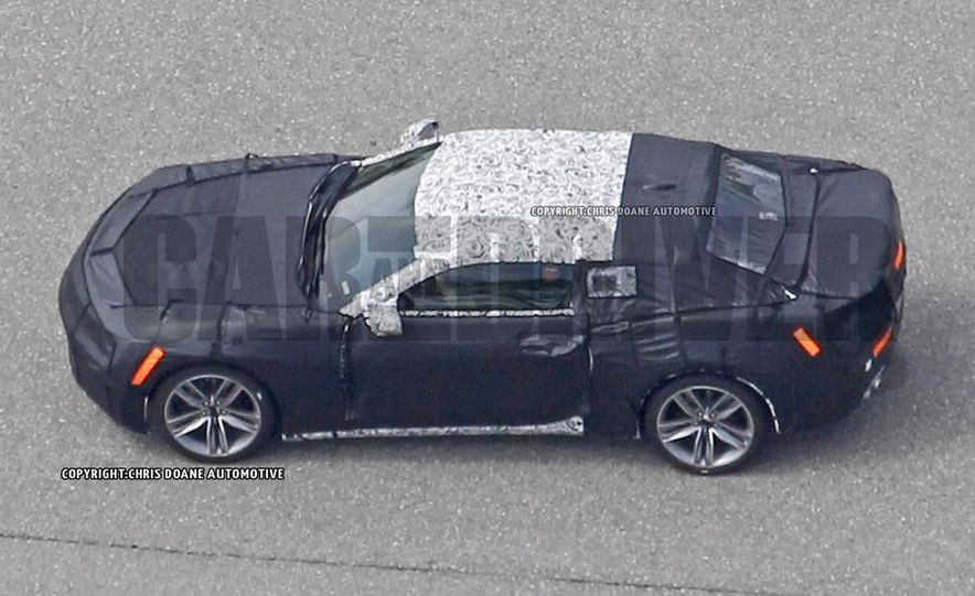 2016 Chevrolet Camaro (spy photo) - Slide 30