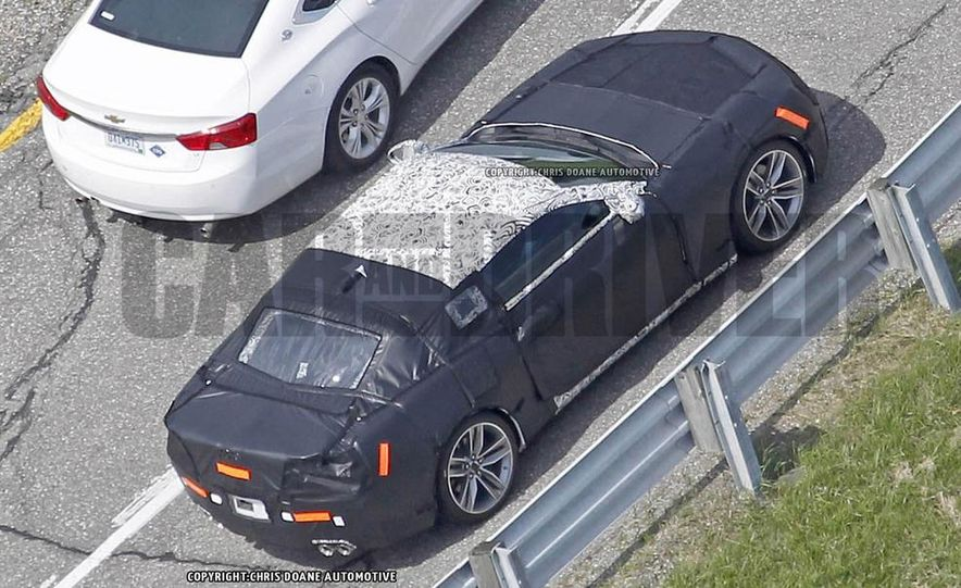 2016 Chevrolet Camaro (spy photo) - Slide 31