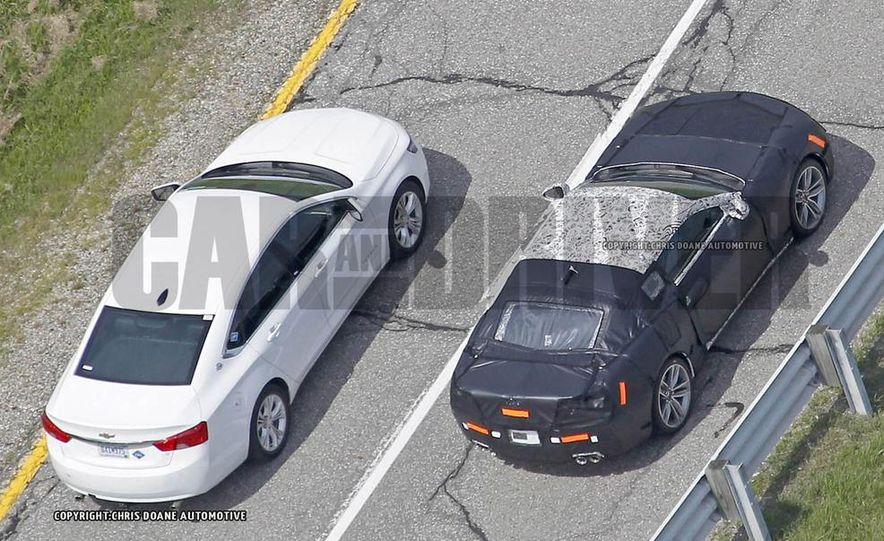2016 Chevrolet Camaro (spy photo) - Slide 33