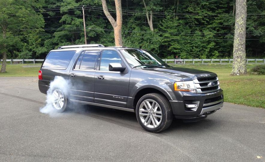 2015 Ford Expedition EL Platinum - Slide 1