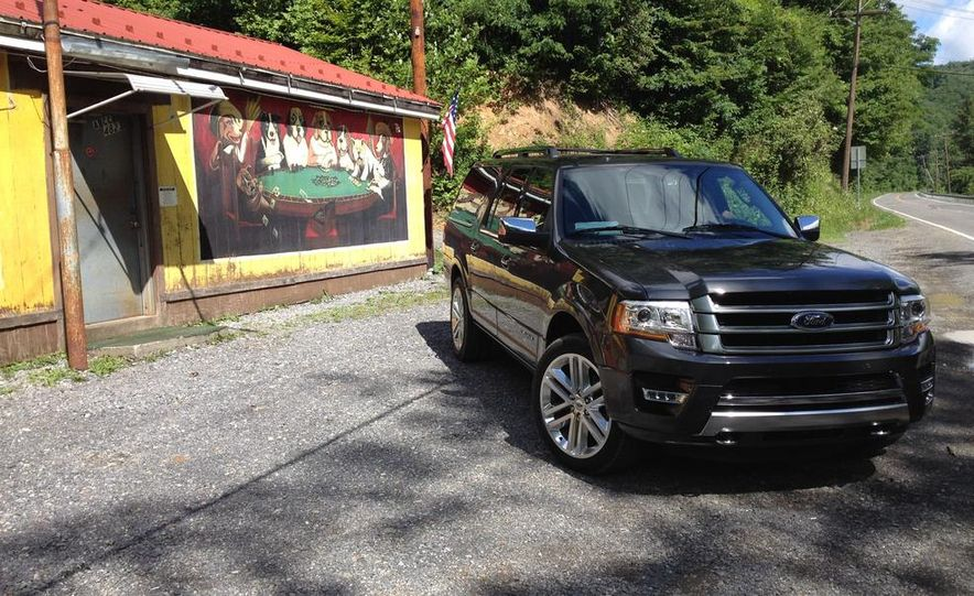 2015 Ford Expedition EL Platinum - Slide 7