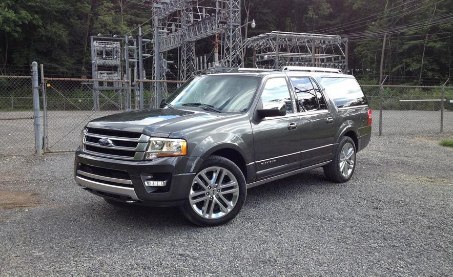 2015 Ford Expedition EL Platinum - Slide 9