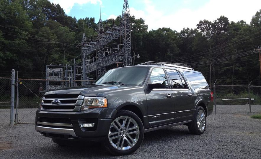 2015 Ford Expedition EL Platinum - Slide 10