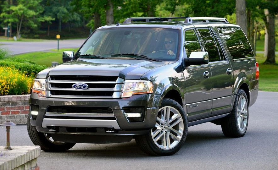 2015 Ford Expedition EL Platinum - Slide 12