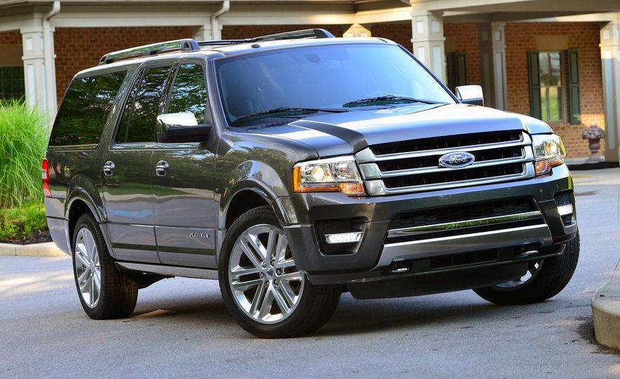 2015 Ford Expedition EL Platinum - Slide 13