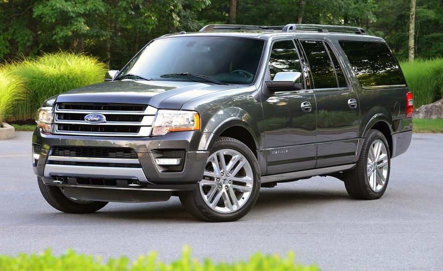 2015 Ford Expedition EL Platinum - Slide 14