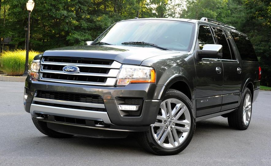 2015 Ford Expedition EL Platinum - Slide 15