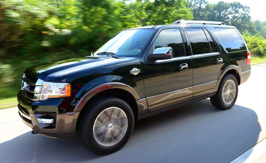 2015 Ford Expedition EL Platinum - Slide 16