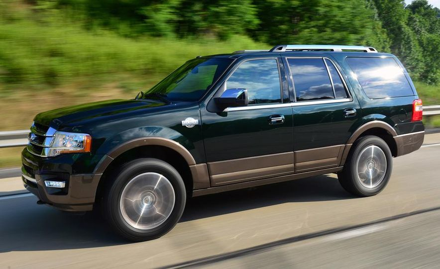 2015 Ford Expedition EL Platinum - Slide 17