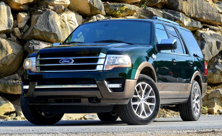 2015 Ford Expedition EL Platinum - Slide 18