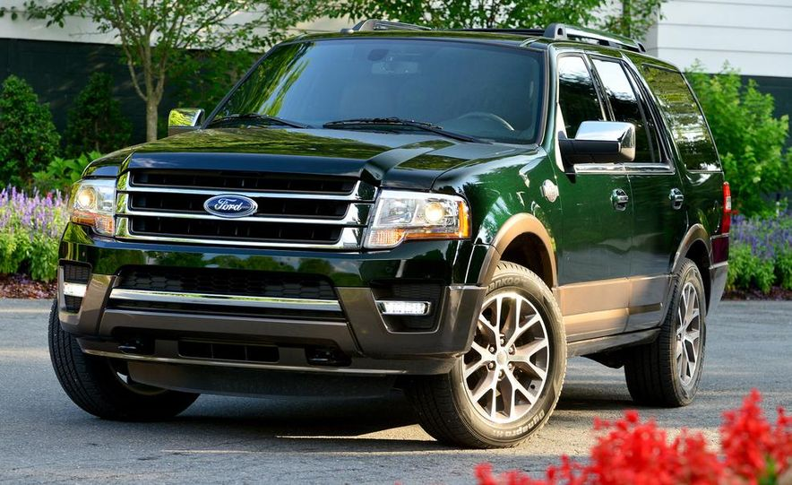 2015 Ford Expedition EL Platinum - Slide 19