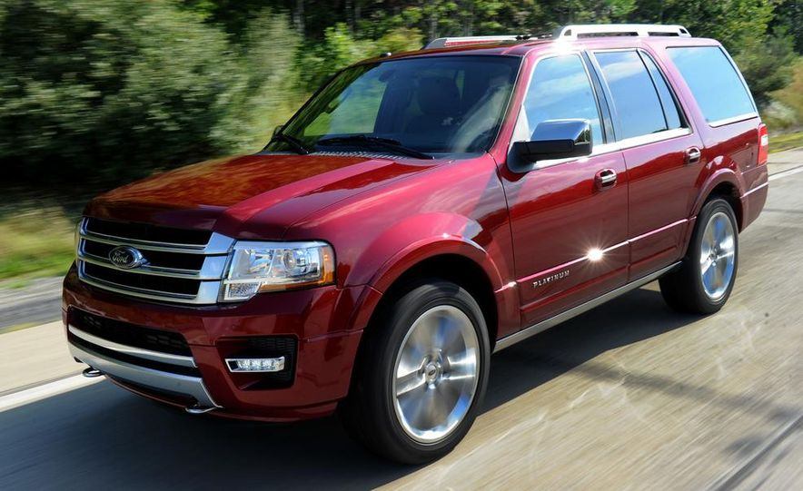 2015 Ford Expedition EL Platinum - Slide 25