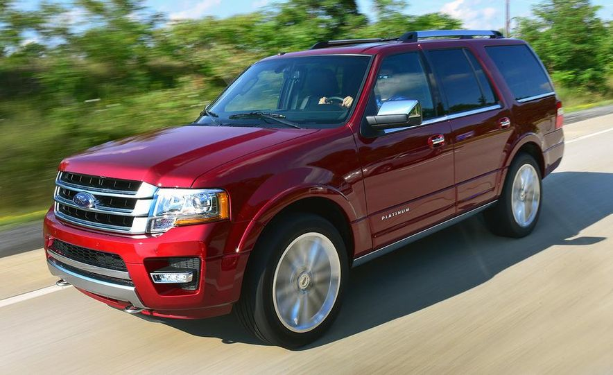 2015 Ford Expedition EL Platinum - Slide 26