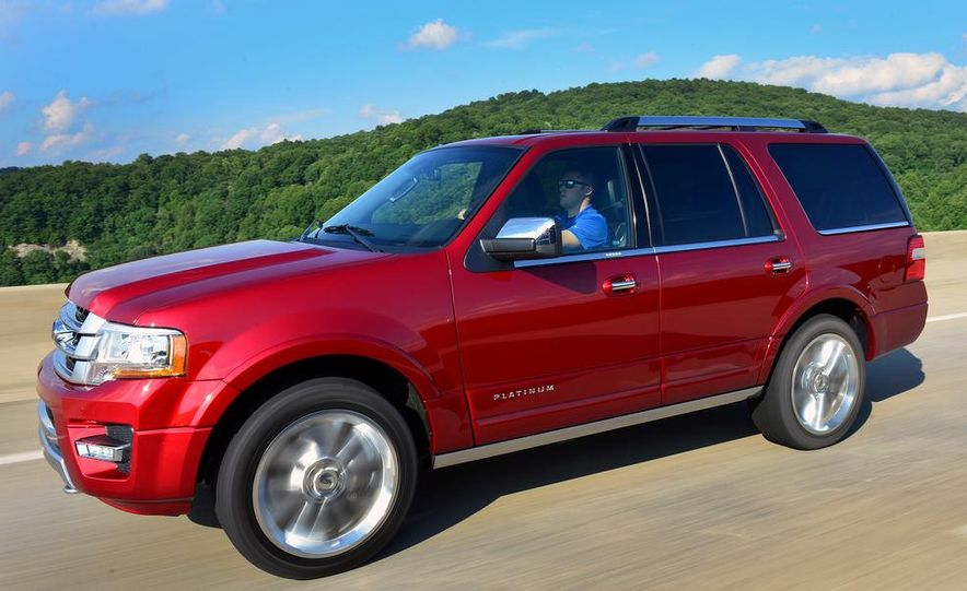 2015 Ford Expedition EL Platinum - Slide 27