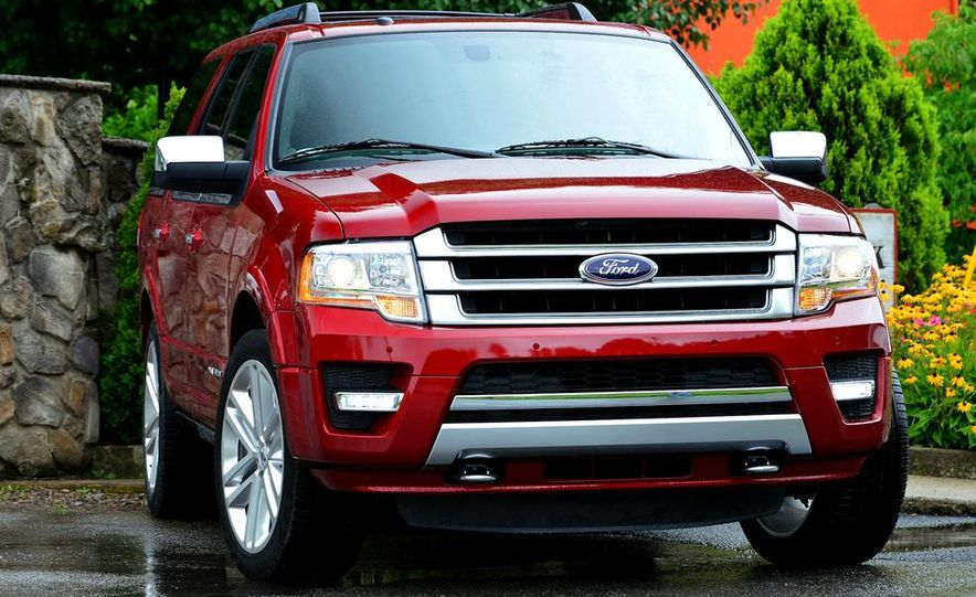 2015 Ford Expedition EL Platinum - Slide 28