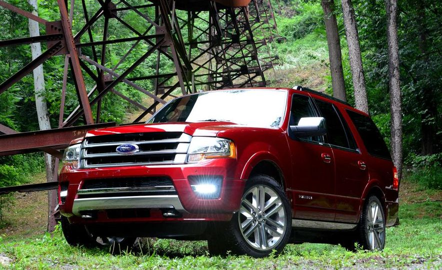 2015 Ford Expedition EL Platinum - Slide 29