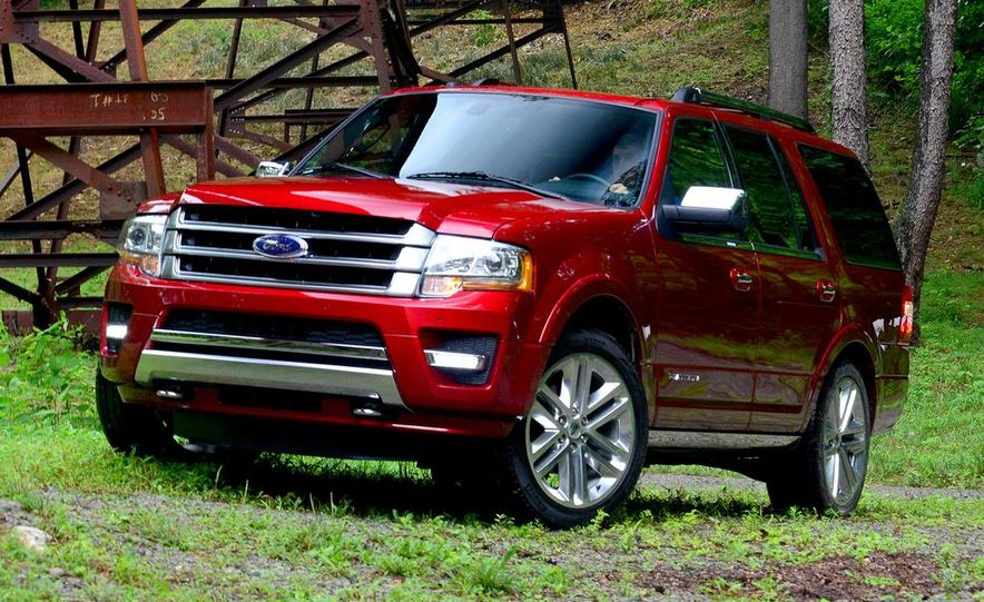 2015 Ford Expedition EL Platinum - Slide 30