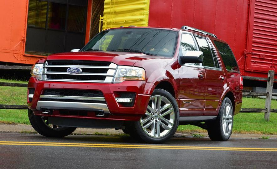 2015 Ford Expedition EL Platinum - Slide 31
