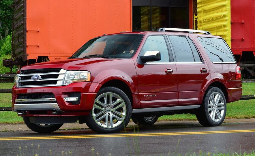 2015 Ford Expedition EL Platinum - Slide 32