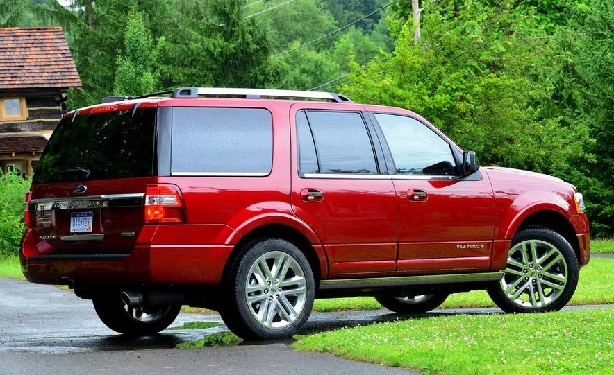 2015 Ford Expedition EL Platinum - Slide 33