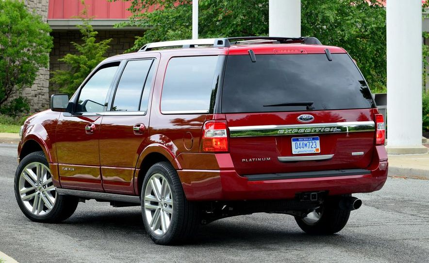 2015 Ford Expedition EL Platinum - Slide 35