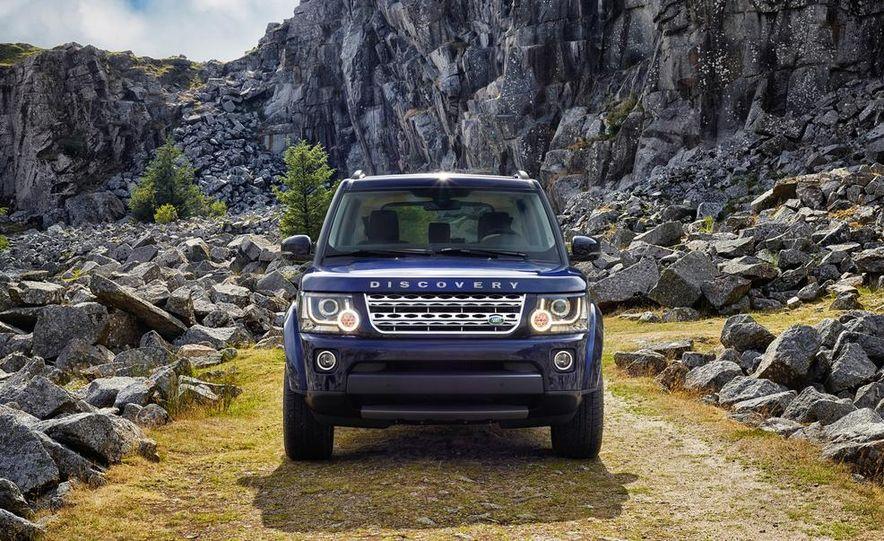 2014 Land Rover LR4 model shown - Slide 1