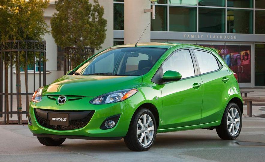 2013 Mazda 2 model shown - Slide 1