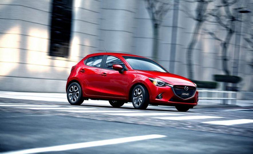 2013 Mazda 2 model shown - Slide 7