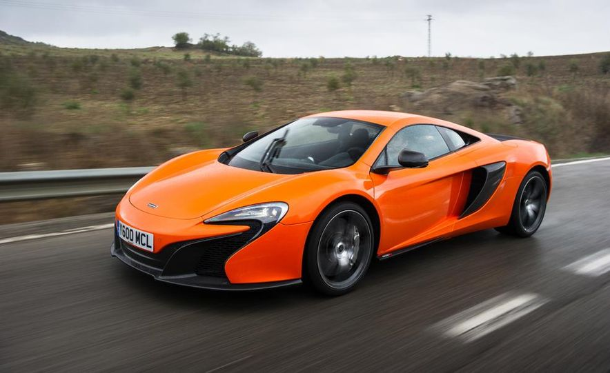 2015 McLaren 650S coupe - Slide 1