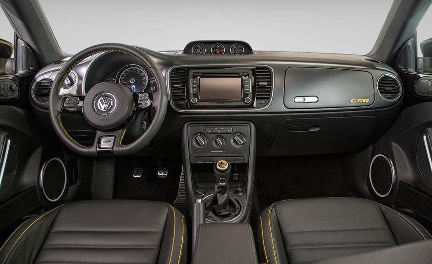 2014 Volkswagen Beetle GSR model shown - Slide 3