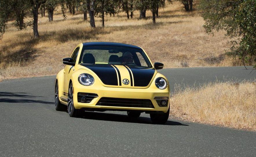 2014 Volkswagen Beetle GSR model shown - Slide 1