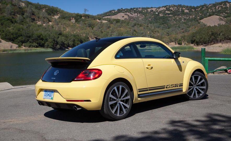 2014 Volkswagen Beetle GSR model shown - Slide 2