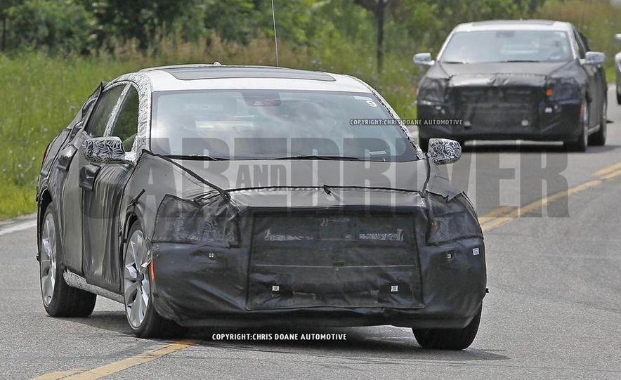 2016 Chevrolet Malibus (spy photo) - Slide 1