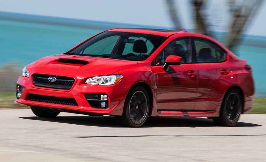 2015 Subaru WRX Manual