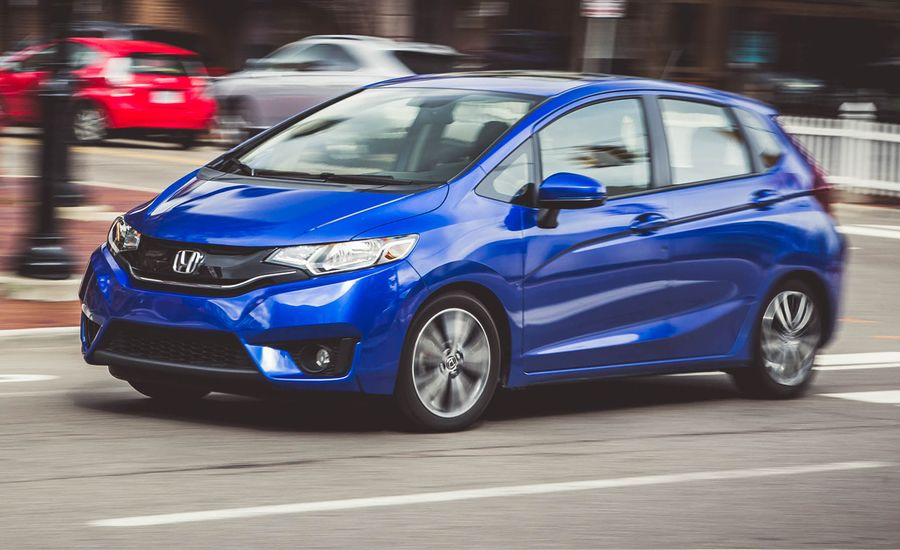 2015 Honda Fit EX Manual