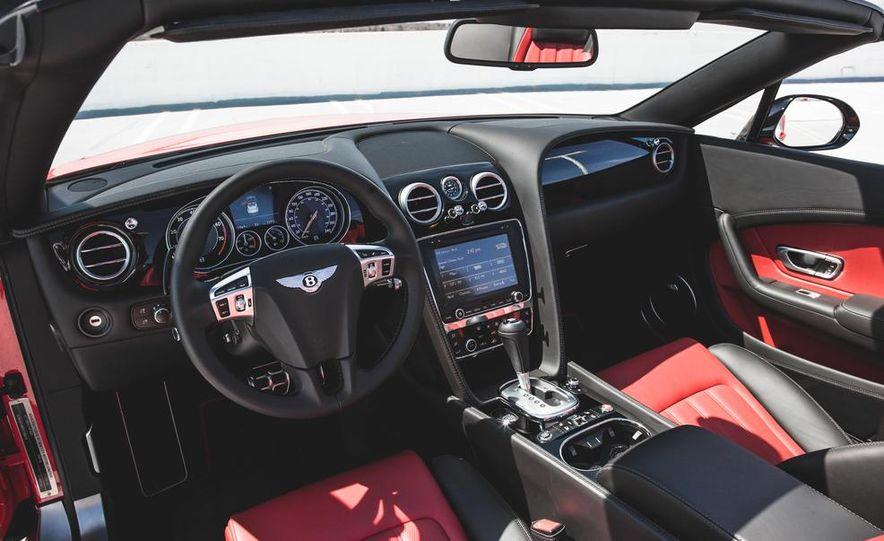 2015 Bentley Continental GT Speed convertible - Slide 17