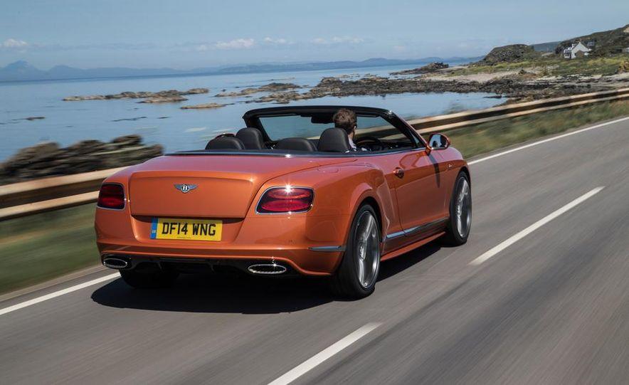 2015 Bentley Continental GT Speed convertible - Slide 3