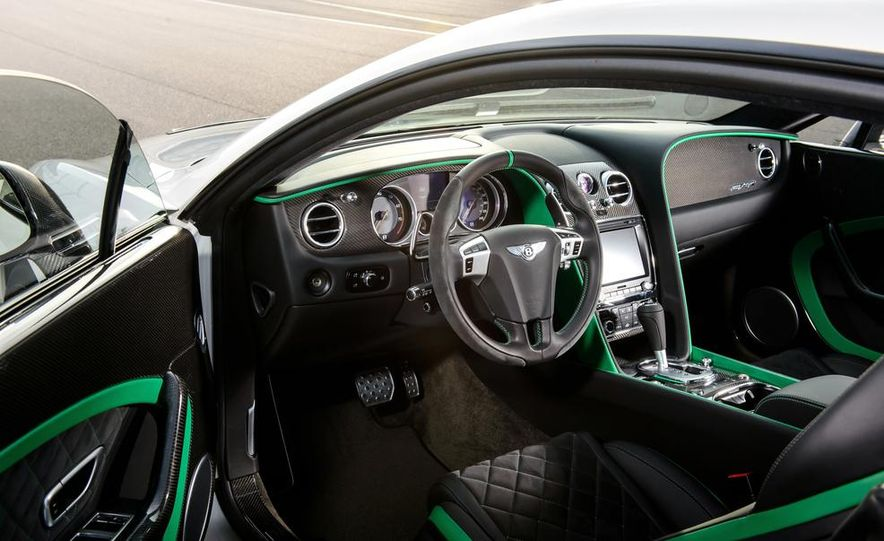2015 Bentley Continental GT Speed convertible - Slide 22