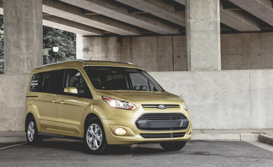 2014 Ford Transit Connect wagon - Slide 9