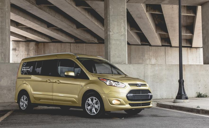 2014 Ford Transit Connect wagon - Slide 10