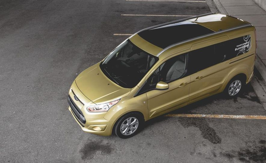 2014 Ford Transit Connect wagon - Slide 11