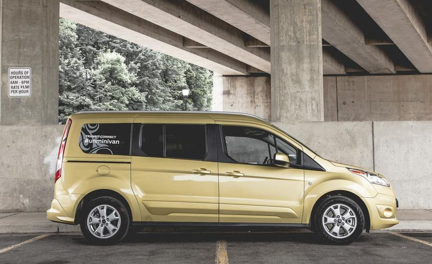 2014 Ford Transit Connect wagon - Slide 12