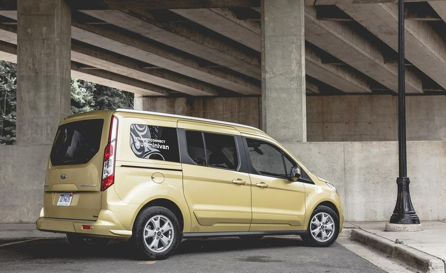 2014 Ford Transit Connect wagon - Slide 14