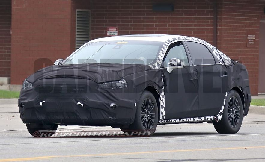 2016 Ford Fusion (spy photo) - Slide 1